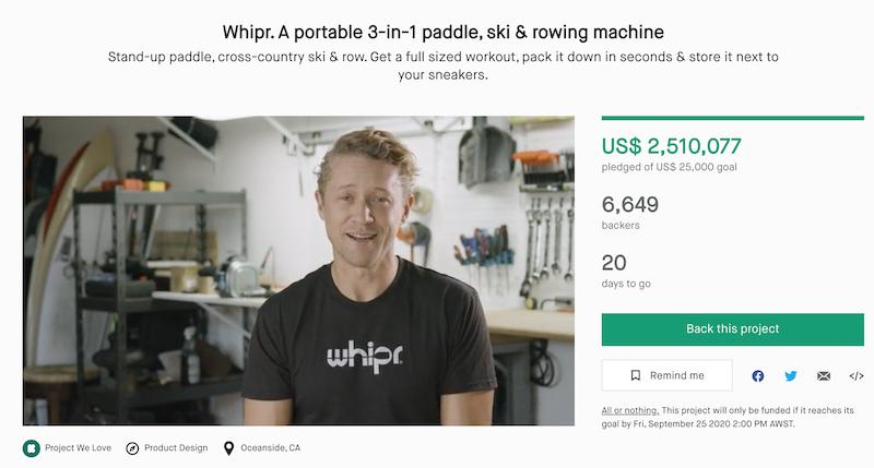 whipr kickstarter