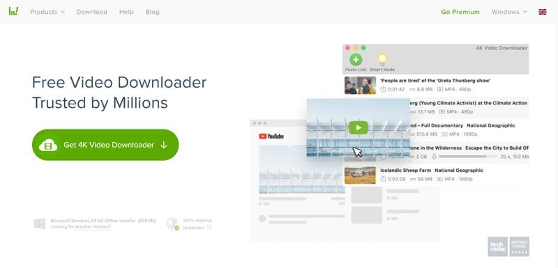 4K Video Downloader - Best Overall Online Video Downloader.