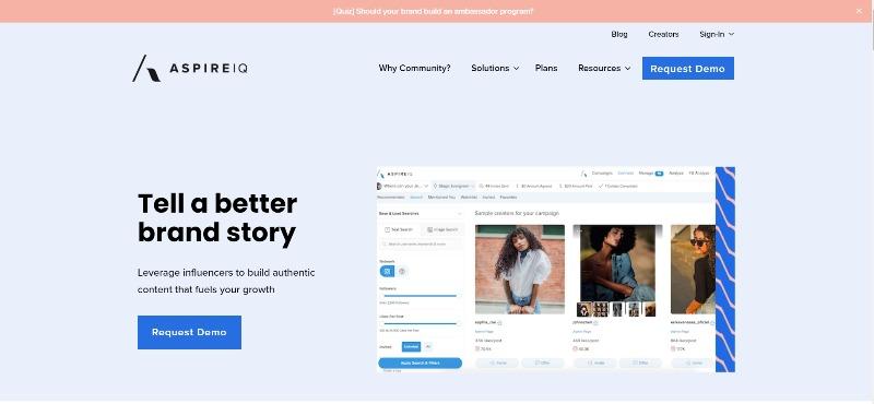 AspireIQ Community Intelligence-Marketing Platform