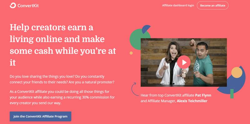 ConvertKit affiliate program