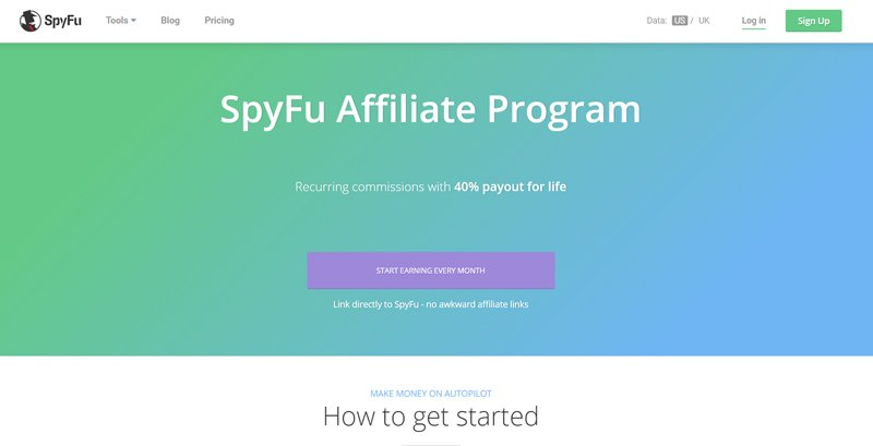 SpyFu affiliate program