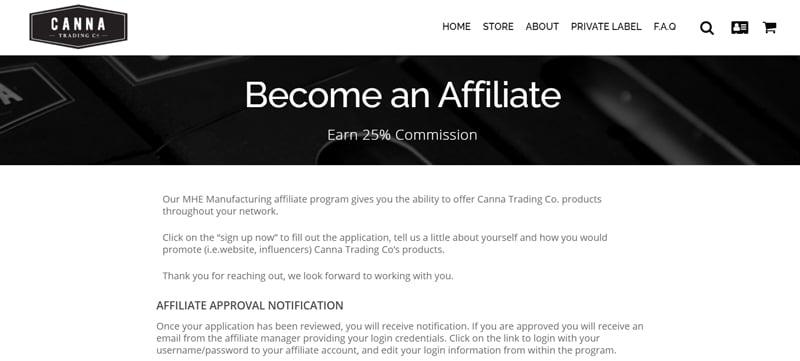 Canna Trading Affiliate Program