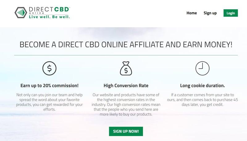 Direct CBD Affiliate Program
