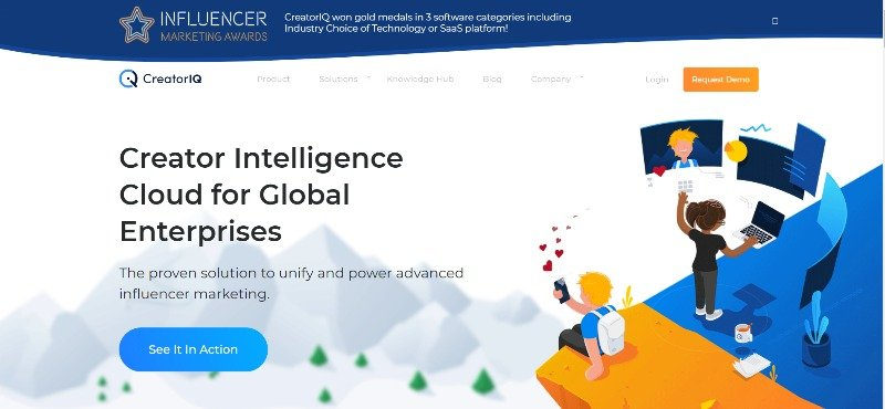 CreatorIQ Enterprise Influencer-Marketing Platform
