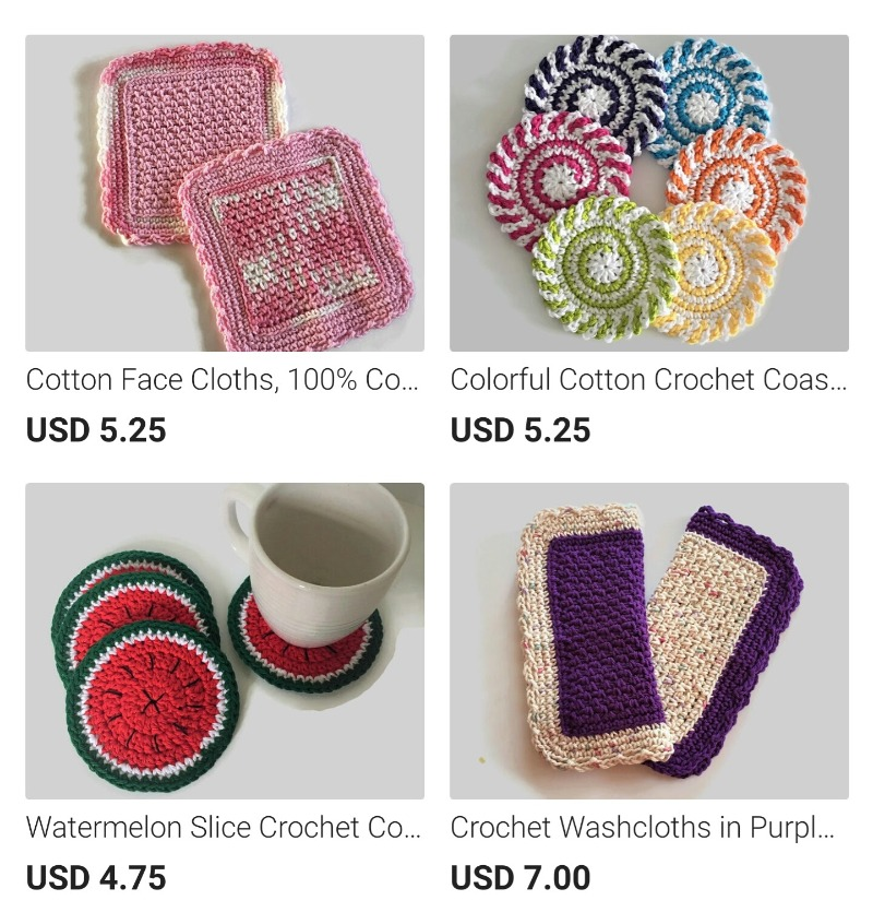 Crochet and Knitted Products