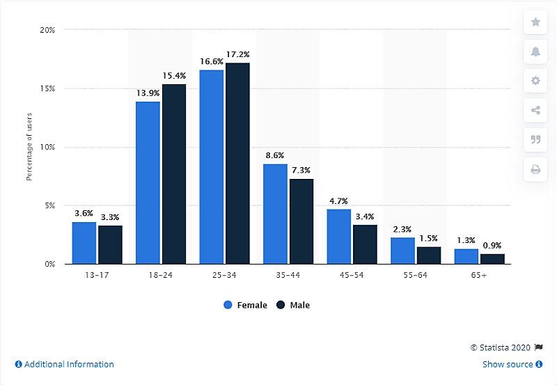 Demographics of Instagram users