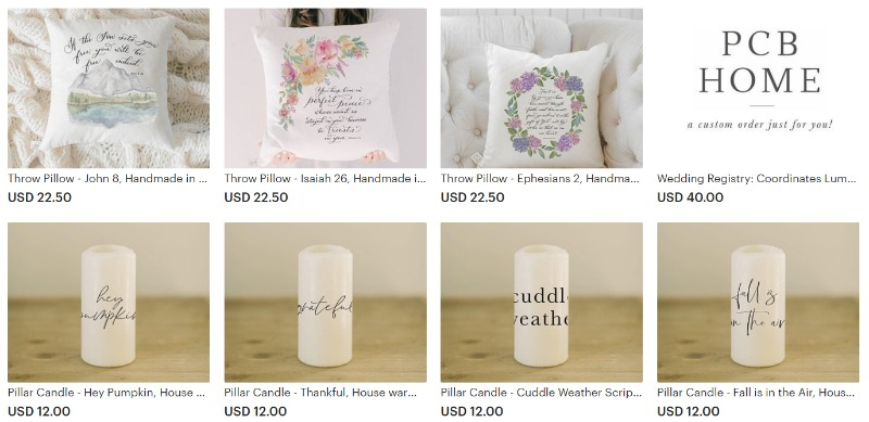 home and living products