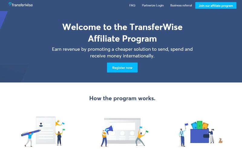 Transferwise Affiliate Programs