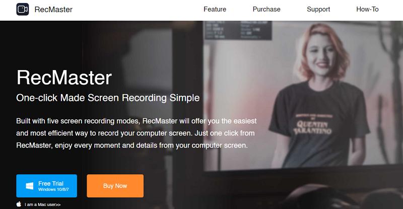 RecMaster - homepage