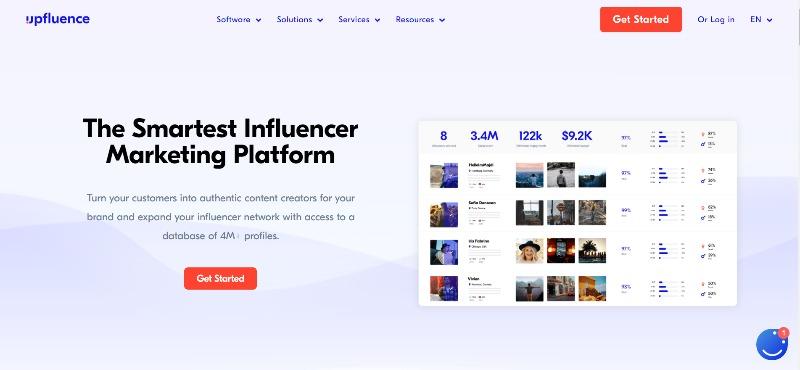 The Smartest Influencer-Marketing Platform Upfluence