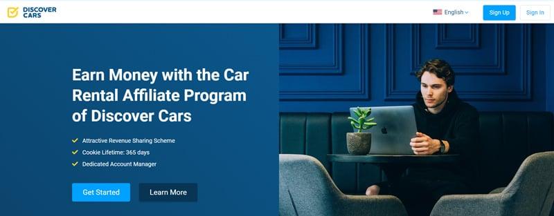 Discober cars Affiliate Programs