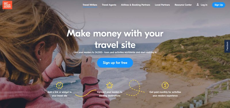 GetYourGuide Affiliate Programs
