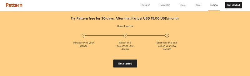 Try Etsy Pattern free for 30 days.