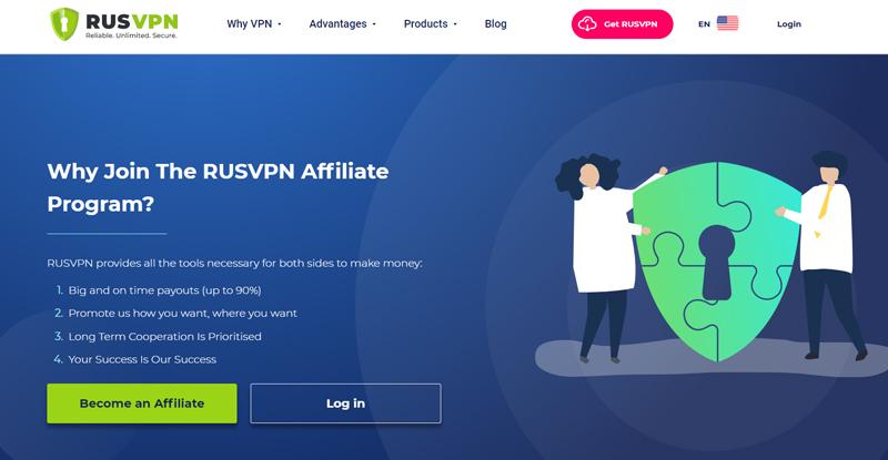 Rus VPN affiliate program