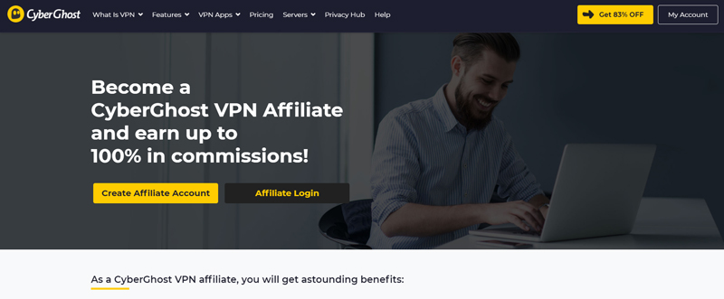 Cyberghost affiliate program