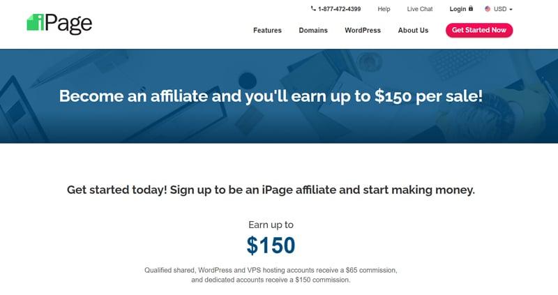 iPage affiliate program