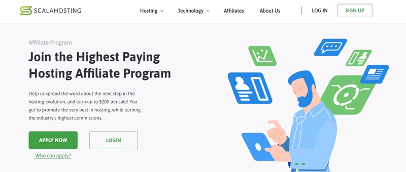 Scala Hosting affiliate program