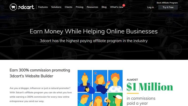 3dcart affiliate marketing program