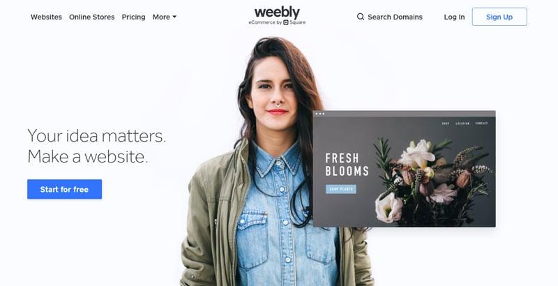 Weebly affiliate program