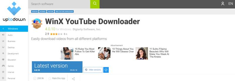 WinX Youtube Downloader Most Safe and Secure YouTube Downloader