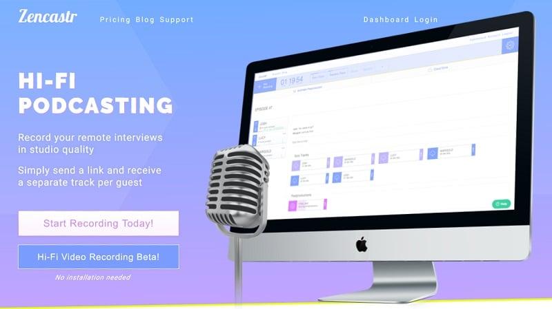 Zencastr - Hi-Fi Podcasting