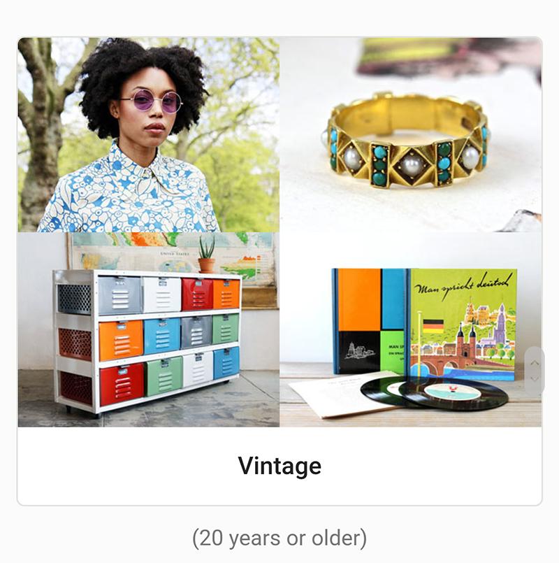 etsy vintage