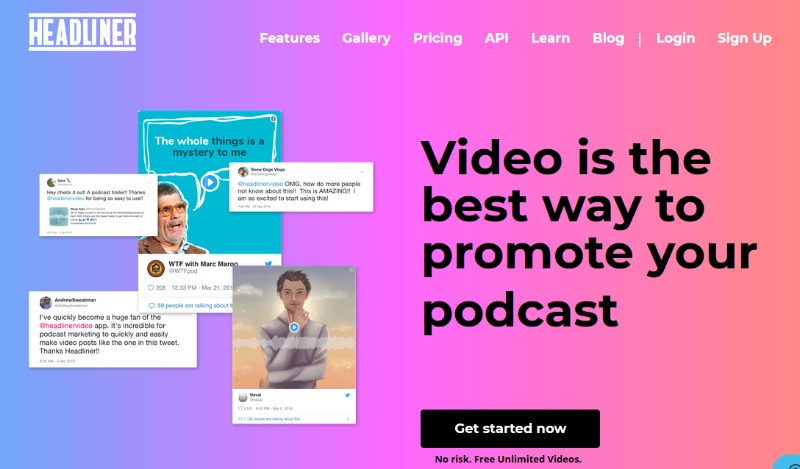 headliner promote your podcast