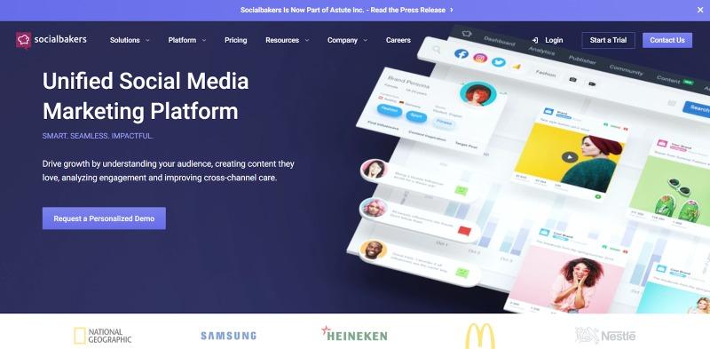 socialbakers social media marketing platform