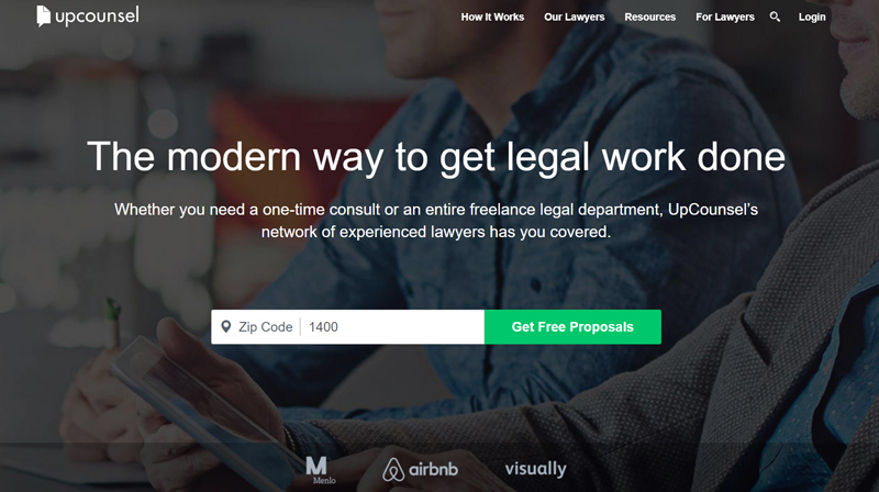 upcounsel best legal marketplace for finding attorneys