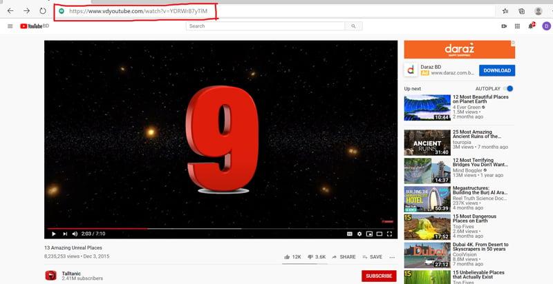 video download with virtual desktop