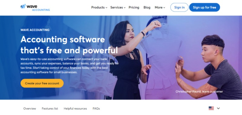 wave free accounting software