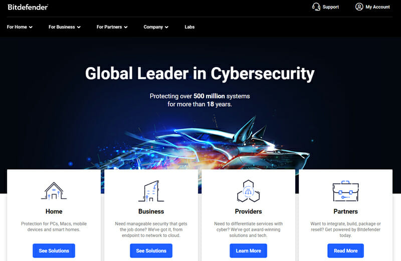 Bitdefender Best Internet Security Suite That Includes A Spyware Scanner and Removal Tool.