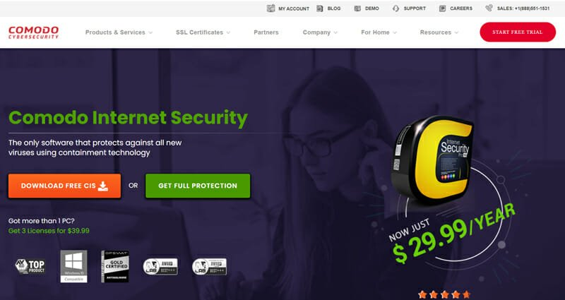 Comodo cyber security Best PC Security Systems for Gamers and Advanced Computer Users.