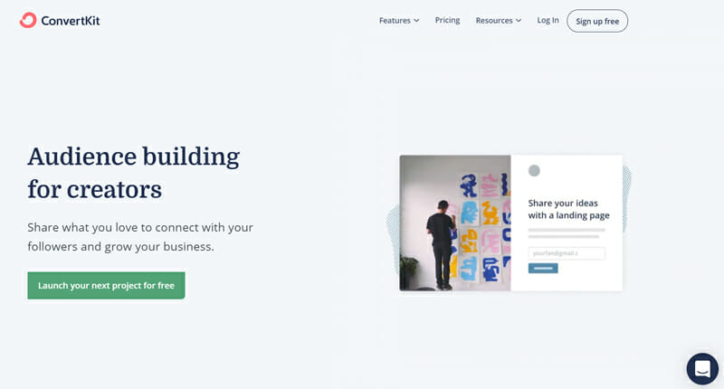 ConvertKit, #1 Sales Funnel Software to Turn Your Side Hustle into Your Career.