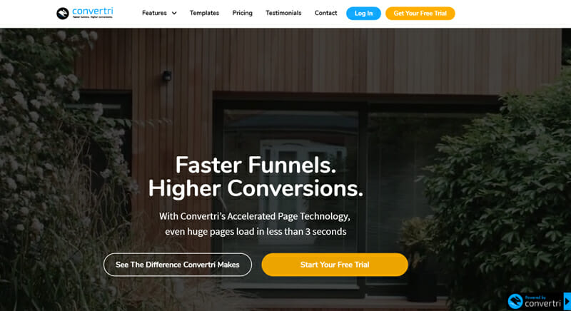 Convertri Fastest Sales Funnel Software to Promote, Sell Products, and Finalize the Sales Process.