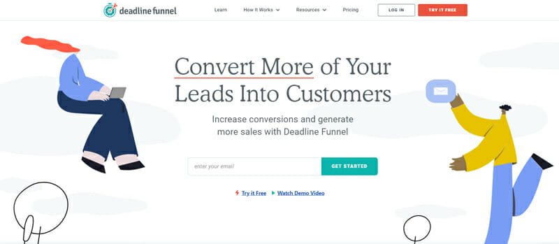 Deadline Funnel Best Software to Create 24/7 Automated Marketing Campaigns.