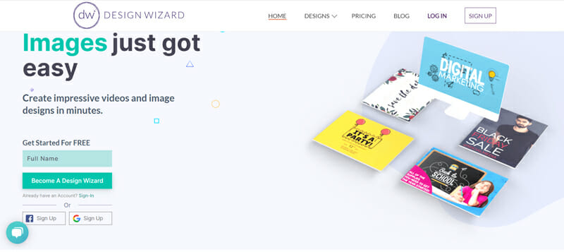 Design Wizard Most Preferred Online Vision Board Platform for its Simplicity and Ease of Use.