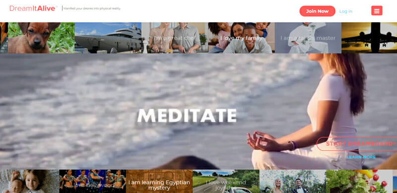 DreamITAlive All round Functional Online Vision Board Platform and Community Builder