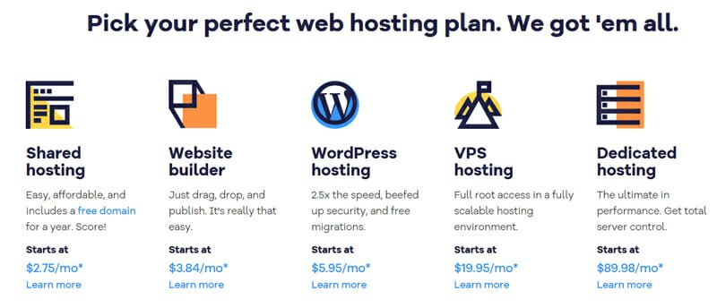 Features and shared web hosting plans of HostGator