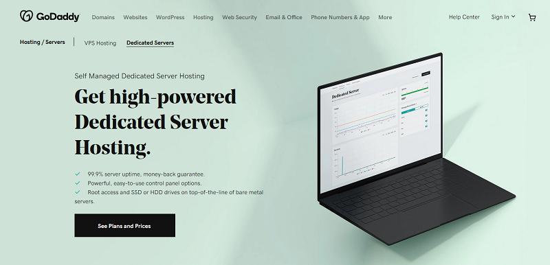GoDaddy - Dedicated Servers