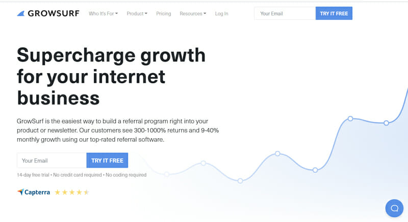 GrowSurf The Best Software to Build a Referral Program Into Your Product or Newsletter