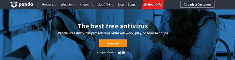 Panda Cloud Antivirus Best Lightweight Internet Security Software for Saving PC Space.