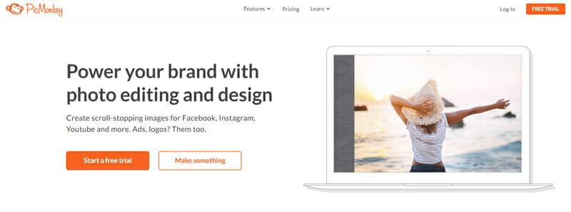 PicMonkey Most Preferred Online Vision Board Platform with Cloud Storage Option.