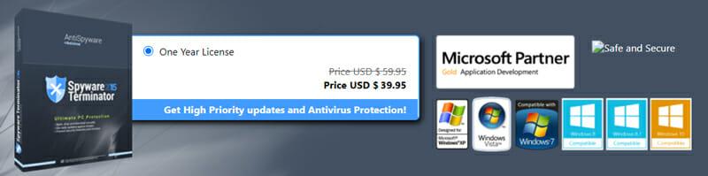 Pricing of Spyware Terminator