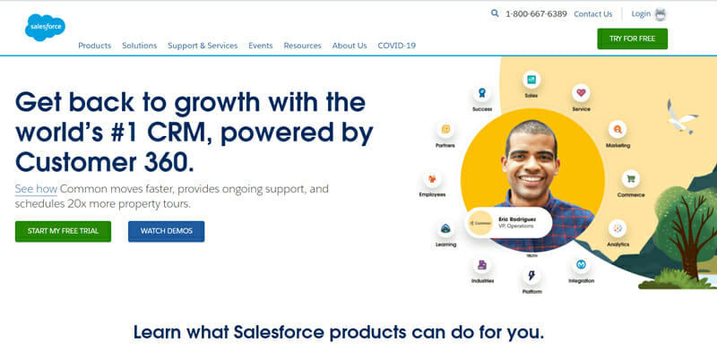SalesForce #1 CRM Software to Unite All Your Teams and Drive Growth.