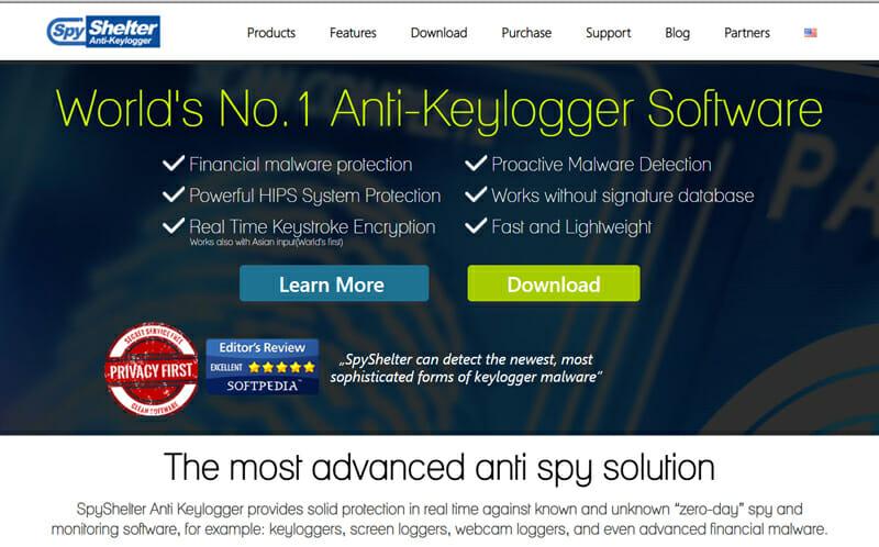 Spyshelter Best Spyware Removal Software for Preventing Keylogging.