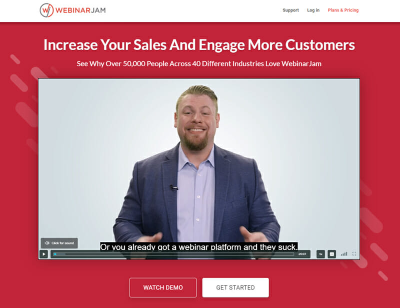 WebinarJam, Ideal Webinar Funnel Software for anyone to Sell, Coach, Connect, or Present.