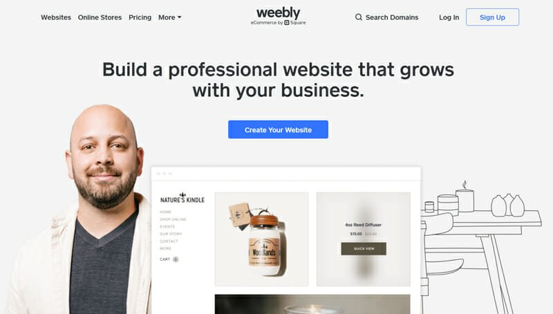 Weebly A Good Option For Building Free Online Stores with a Free Domain.