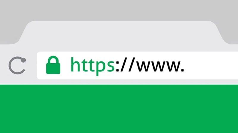 padlock icon in domain