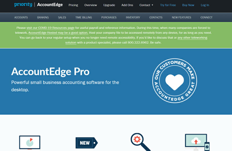 AccountingEdge Pro Best Accounting Software For Desktop Systems.
